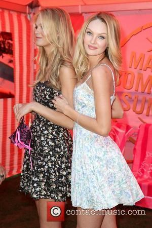 Erin Heatherton and Candice Swanepoel Victoria's Secret Bomshells reveal the What is Sexy? list and kick-off The Bimshell Summer Tour...