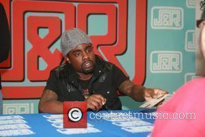 Wale signs copies of his album Ambition at at J&R Music World store New York City, USA - 02.11.11