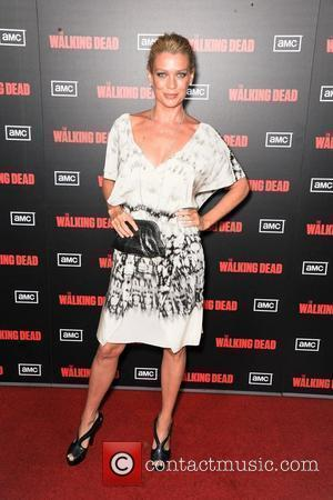 Laurie Holden,  at the premiere of AMC's 'The Walking Dead' 2nd Season at LA Live Theaters. Los Angeles, California...
