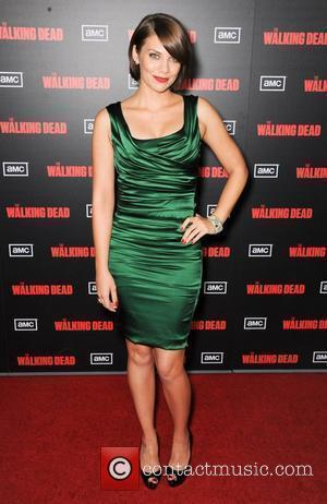 Lauren Cohan  at the premiere of AMC's 'The Walking Dead' 2nd Season at LA Live Theaters Los Angeles, California...