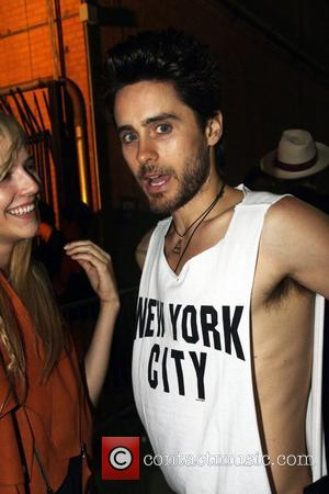 Jared Leto Alexander Wang After party at Pier 40  New York City, USA - 10.09.11