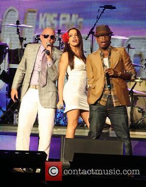 Pitbull, Nayer and Ne-Yo  KIIS FM's 2011 Wango Tango Concert held at the Staples Center - Performances Los Angeles,...
