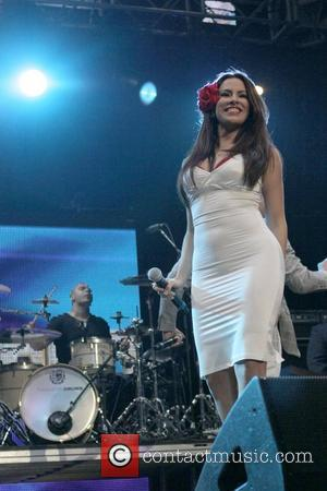 Pitbull performs KIIS FM's 2011 Wango Tango Concert - Show  Held at The Staples Center Los Angeles, California -...