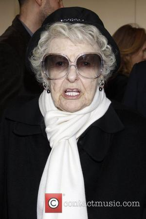 Elaine Stritch Opening night of the Lincoln Center Broadway production of 'War Horse' at the Vivian Beaumont Theater - Inside...