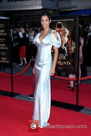 Nicole Murphy  The World premiere of 'Water For Elephants' held at The Ziegfeld Theatre - Arrivals New York City,...