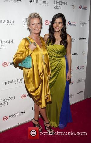 Efva Attling & Patricia Velasquez  The 8th Wayuu Taya Foundation Gala held at Urban Zen at the Stephan Weiss...