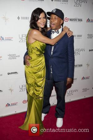 Patricia Velasquez & Russel Simmons The 8th Wayuu Taya Foundation Gala held at Urban Zen at the Stephan Weiss Studio...
