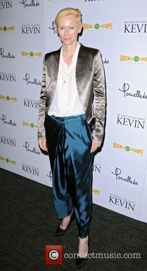 Tilda Swinton 'We Need to Talk About Kevin' screening at the Sunshine Landmark  New York City, USA - 15.11.11
