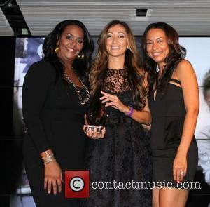Kristi Henderson, Jennifer Yu and Valeisha Butterfield-Jones The 3rd Annual WEEN Awards at Samsung Experience inside the Time Warner Building...
