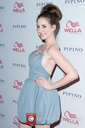 Alison Brie Wella Professionals Flagship Salon Grand Opening at Pipino 57  New York City, USA - 17.05.11