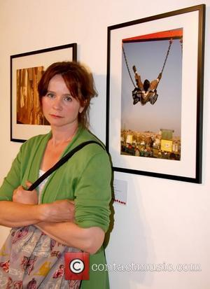Emily Watson Wembley To Soweto Exhibition Gala Opening at the OXO Tower - Inside London, England - 07.07.11