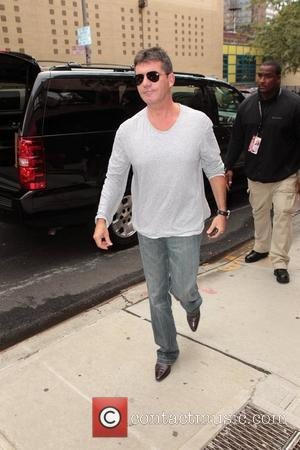 Simon Cowell outside Fox studios for 'The Wendy Williams Show' New York City, USA - 04.10.11