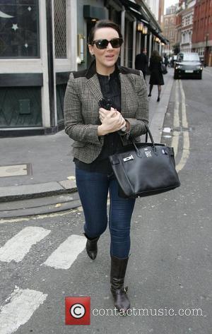 Martine McCutcheon walking in London's West End London, England - 09.03.11