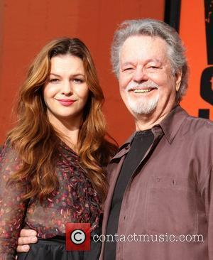 Amber Tamblyn and Russ Tamblyn Hand and footprint ceremony celebrating the 50th anniversary of 'West Side Story' at Grauman's Chinese...
