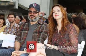 David Cross, Amber Tamblyn and Grauman's Chinese Theatre