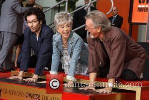 George Chakiris, Rita Moreno, Russ Tamblyn and Grauman's Chinese Theatre