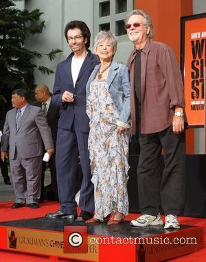 George Chakiris, Rita Moreno, Russ Tamblyn Hand and footprint ceremony celebrating the 50th anniversary of 'West Side Story' at Grauman's...