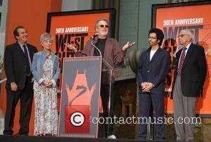 Kenny Ortega, George Chakiris, Rita Moreno, Russ Tamblyn and Grauman's Chinese Theatre