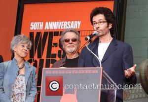 Rita Moreno, George Chakiris, Russ Tamblyn and Grauman's Chinese Theatre