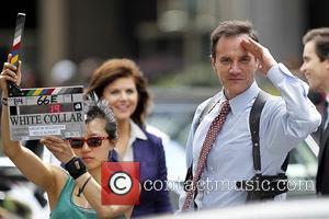 Tim DeKay filming on the set of 'White Collar' in Manhattan New York City, USA - 30.06.11