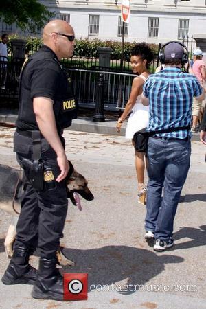 Jada Pinkett Smith arrives to attend the 2011 White House Easter Egg Roll Washington DC, USA - 25.04.11