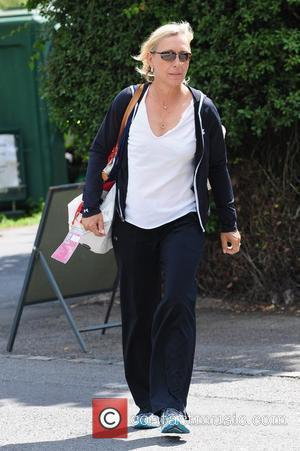 Martina Navratilova Celebrities arriving at the Wimbledon Tennis Championships London, England - 01.07.11