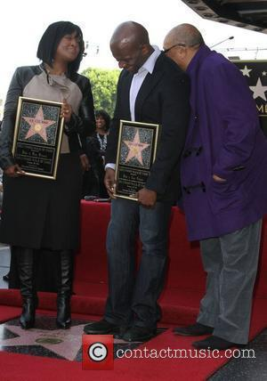 Bebe Winans, Quincy Jones and Walk Of Fame