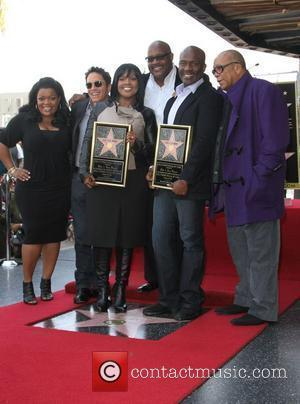 Dave Koz, Bebe Winans, Quincy Jones and Walk Of Fame