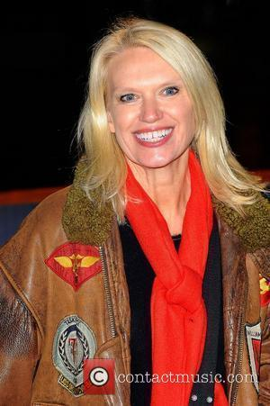 Anneka Rice,  at the opening night launch party for Winter Wonderland at Hyde Park. London, England - 17.11.11