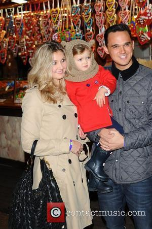 Gareth Gates,  at the opening night launch party for Winter Wonderland at Hyde Park. London, England - 17.11.11