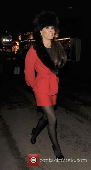 Tara Palmer-Tomkinson at Winter Wonderland, held in Hyde Park. London, England - 17.11.11