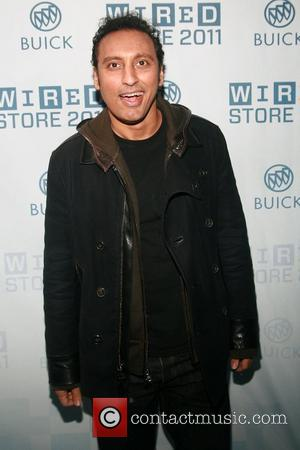 Aasif Mandvi 2011 Wired Store Opening Launch Party, held at the Wired Broadway Store in Times Square - Arrivals New...
