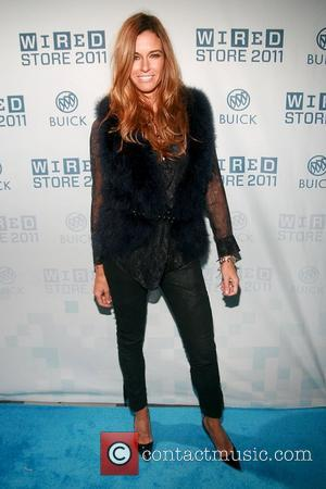Kelly Bensimon and Times Square
