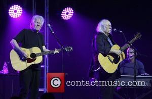 David Crosby and Graham Nash 7th Annual Focus for Change benefit dinner and concert at the Roseland Ballroom for WITNESS...