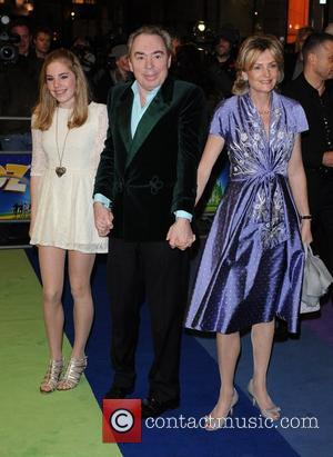 Andrew Lloyd Webber and guests 'The Wizard of Oz' press night held at the Palladium Theatre - Arrivals. London, England...