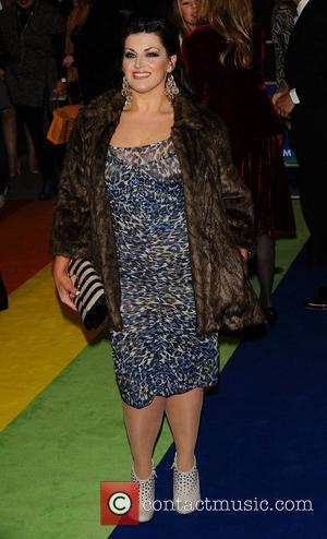 Jodie Prenger at the 'The Wizard of Oz' press night held at the Palladium Theatre - Arrivals London, England -...