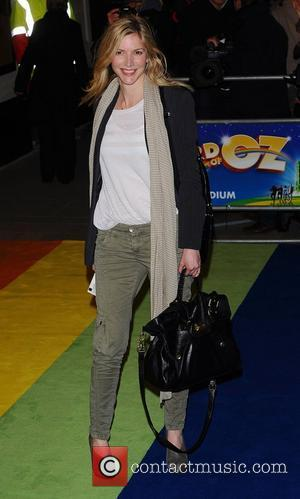Lisa Faulkner at the 'The Wizard of Oz' press night held at the Palladium Theatre - Arrivals London, England -...