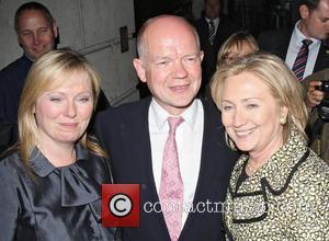 Hillary Clinton and William Hague