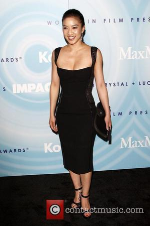 Michelle Kwan The 2011 Women In Film Crystal + Lucy Awards at the Beverly Hilton Hotel - Arrivals Los Angeles,...