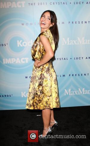 Sarah Shahi  The 2011 Women In Film Crystal + Lucy Awards at the Beverly Hilton Hotel - Arrivals...