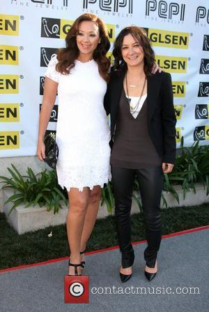 Leah Remini and Sara Gilbert Women Who GLSEN - Arrivals Los Angeles, California - 01.05.11