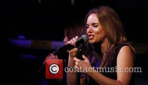 Jodi Albert of band Wonderland performing at The Jazz Cafe in Camden London, England - 19.06.11