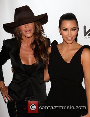 Robin Antin and Kim Kardashian