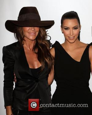 Robin Antin and Kim Kardashian