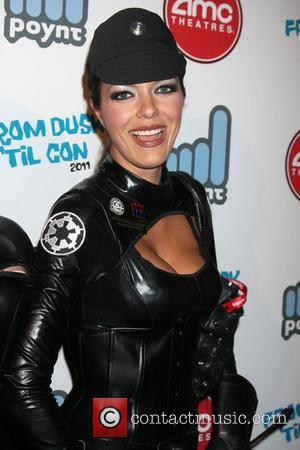 Adrianne Curry The Wrath of Con Party at Stingaree  San Diego, California - 22.07.11