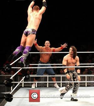 John Cena, The Miz and John Morrison WWE RAW Wrestling Superstars at The O2 Arena Dublin, Ireland - 15.04.11