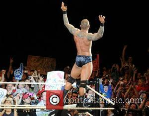 Randy Orton WWE RAW Wrestling Superstars at The O2 Arena Dublin, Ireland - 15.04.11