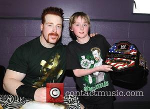 Sheamus And Fan Ciaran Mcdonnell