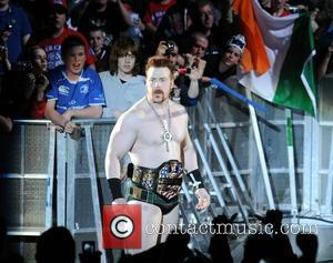 Sheamus and John Cena