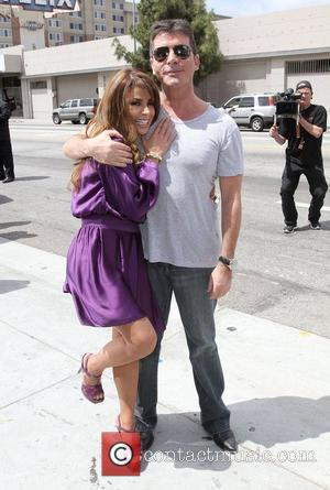 Paula Abdul and Simon Cowell